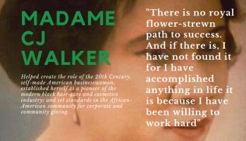 Madame CJ Walker quote