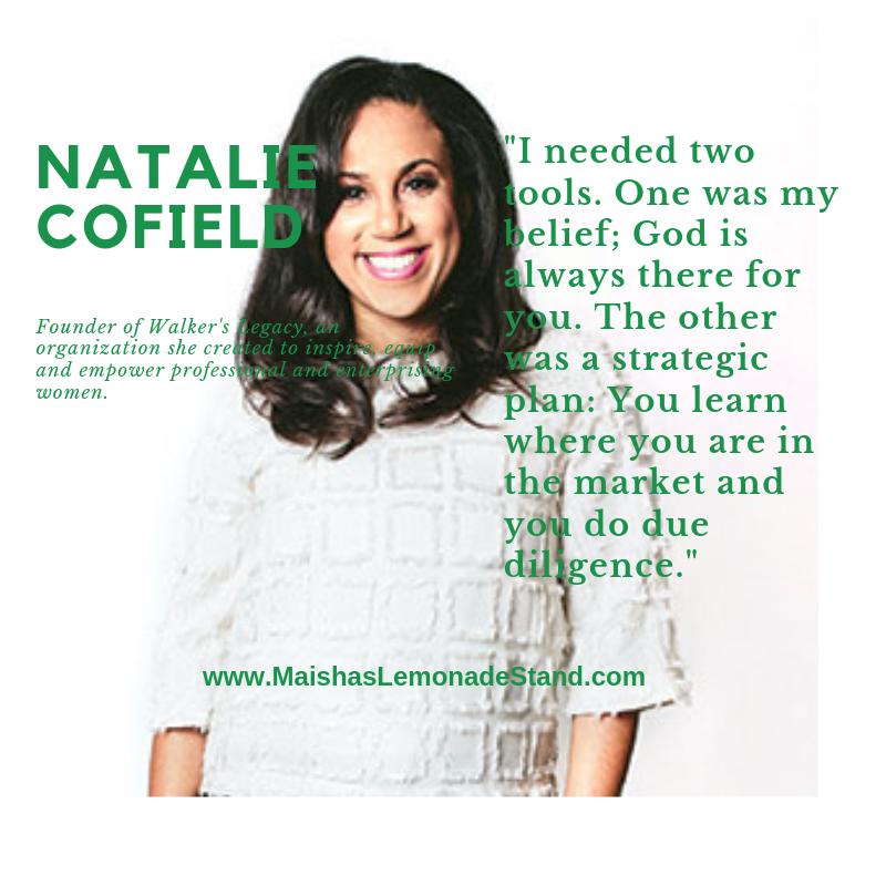 Natalie Cofield. Walkers Legacy