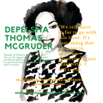 Delpesha Thomas McGruder founder of Mothers of Black Boys
