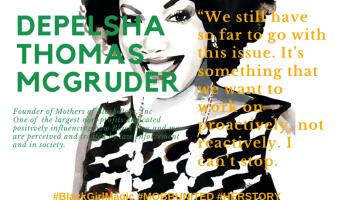 Delpesha Thomas McGruder founder of Mothers of Black Boys