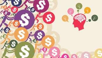 brain thinking of money making ideas