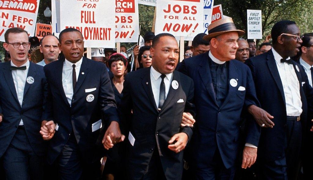 Martin Luther King Jr teamwork