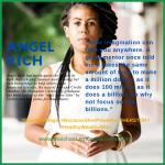 Angel Rich Hampton University quote