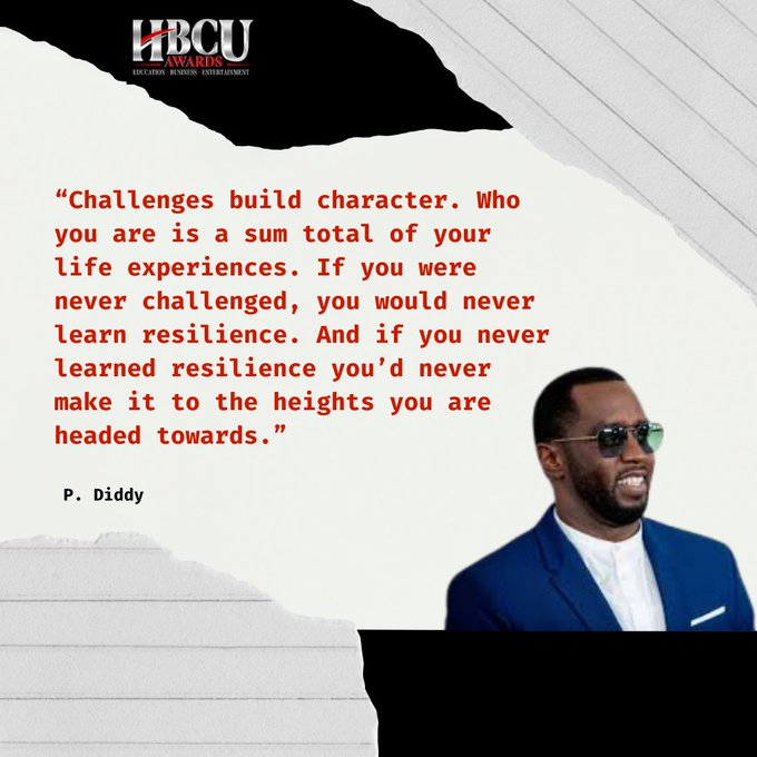 P Diddy Quote